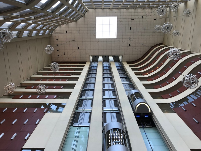 Inside the Hilton Guayaquil