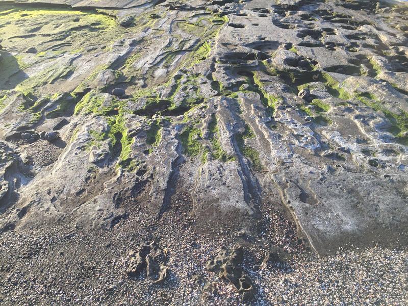 Puerto Egas rock