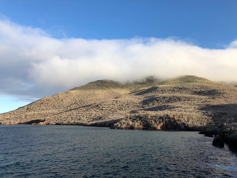 Rabida Island mist