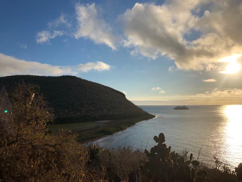 Rabida Island sunset