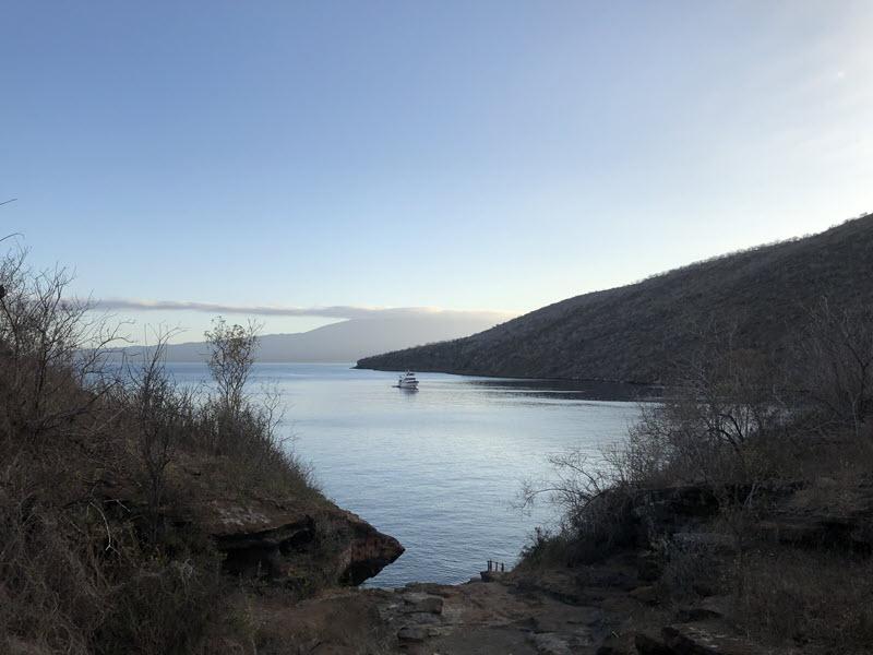 Tagus Cove inland